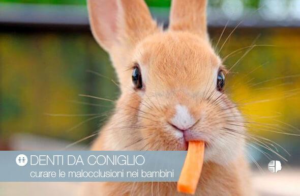 Denti da coniglio rimedi