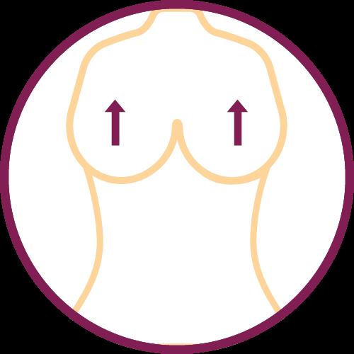 Intervento di rimodellamento del seno