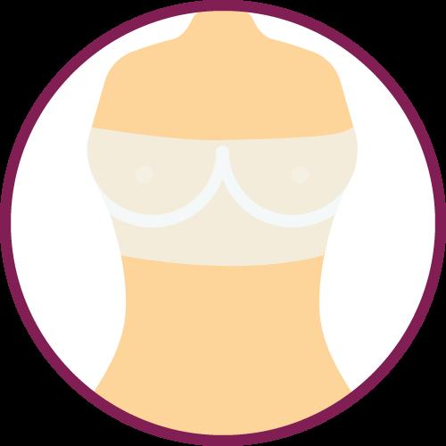 Sutura intervento aumento seno