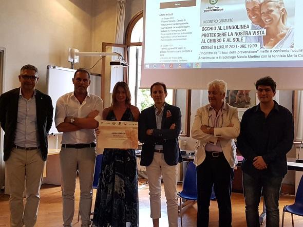 Tour della prevenzione Treviso con Marta Corean